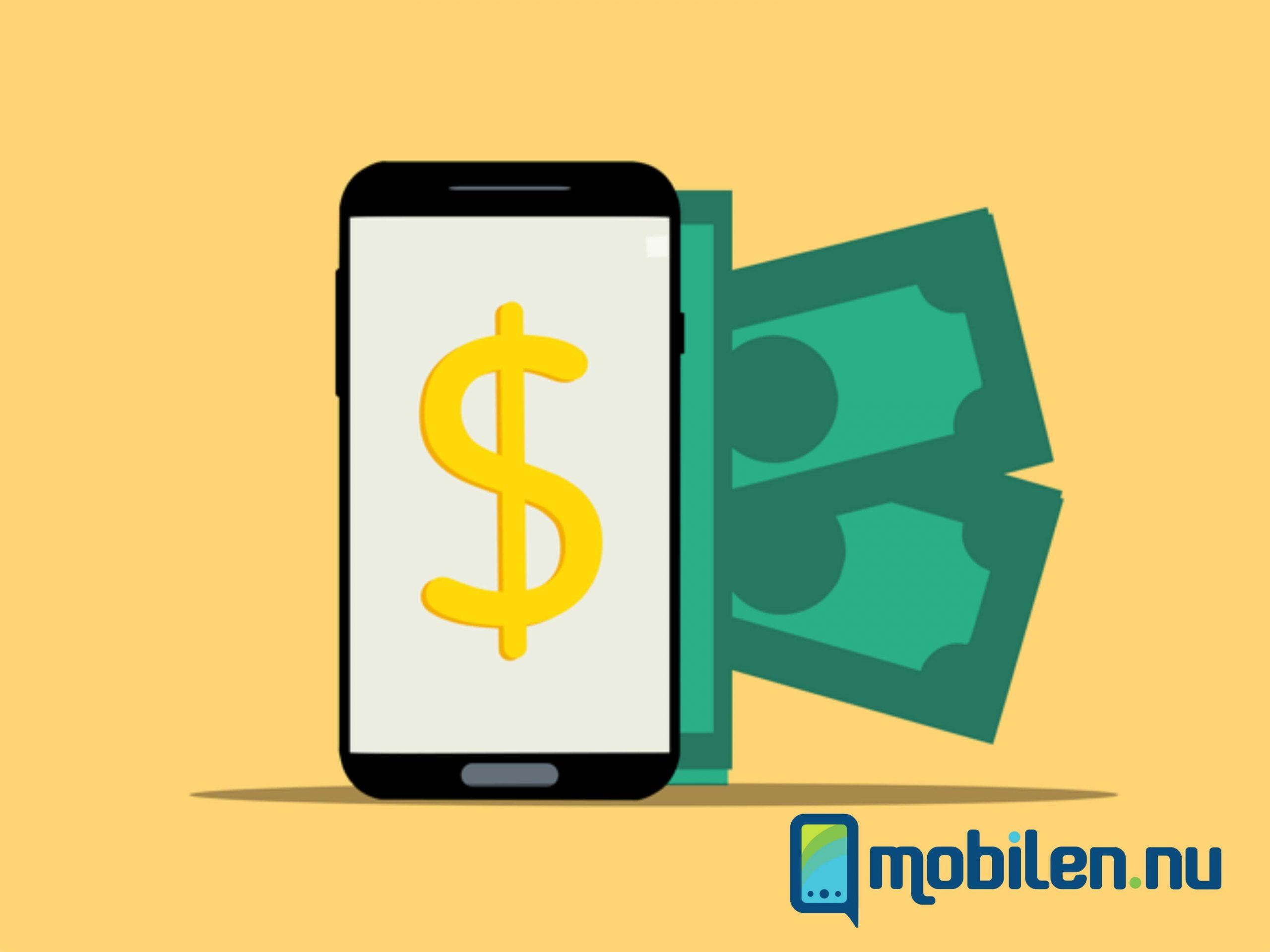 betta på mobilen
